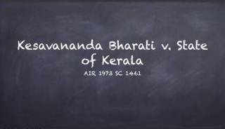 Kesavananda Bharati v. State of Kerala : A case that saved Indian constitution.