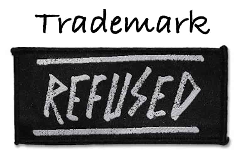 trademark refused min Grounds of Refusal of A Trademark