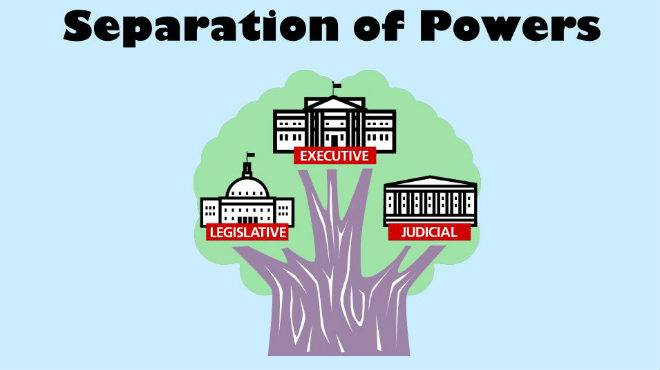 doctrine of separation of power
