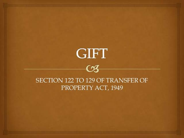 Gift ToP Act SUSPENSION AND REVOCATION OF GIFTS
