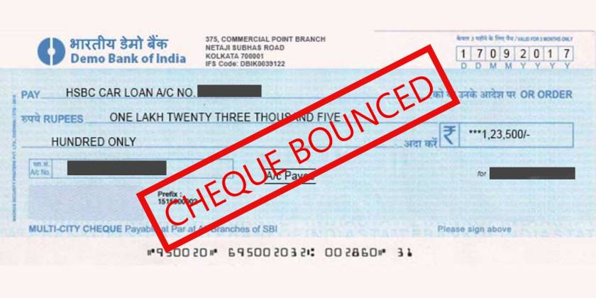 cheque bounce complaint 1 NOTICE FOR CHEQUE BOUNCE