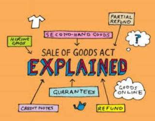 Summary of Sale of Goods Act,1930