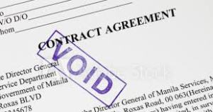 Void Agreements - Agreements expressly declared as void - Section 26 to 30