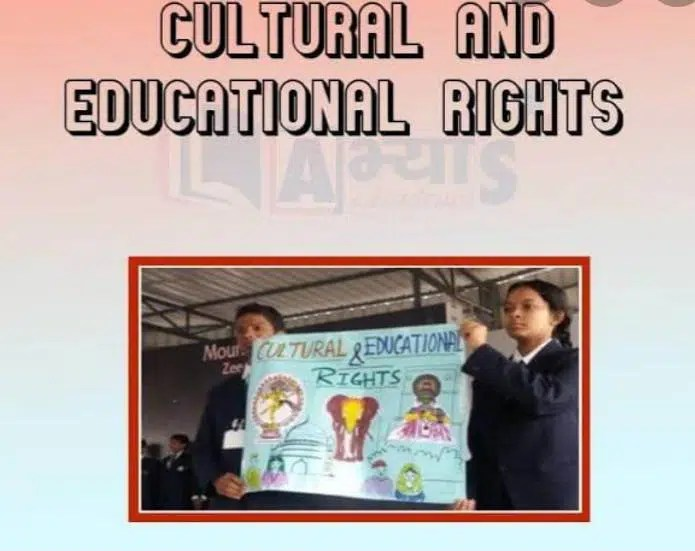 Cultural and Educational Rights Article (29-30)