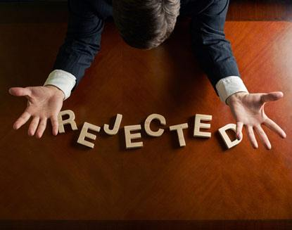 What If You Get Rejected At Law Schools | LawCrossing.com