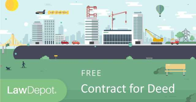 Land Contract Forms  Free Contract for Deed Form (US)  LawDepot