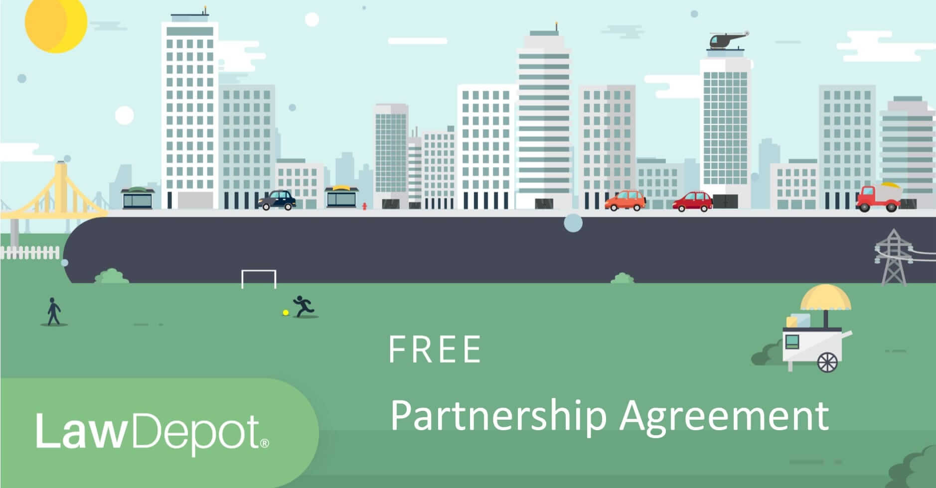 This partnership agreement serves only as a template. Free Partnership Agreement Create Download And Print Lawdepot Us