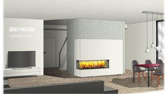 Ideas para chimeneas y estufas a leña
