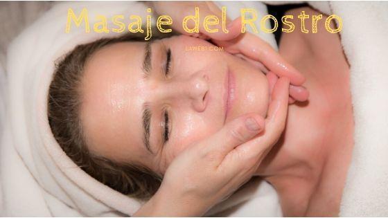 Guía de masaje del rostro