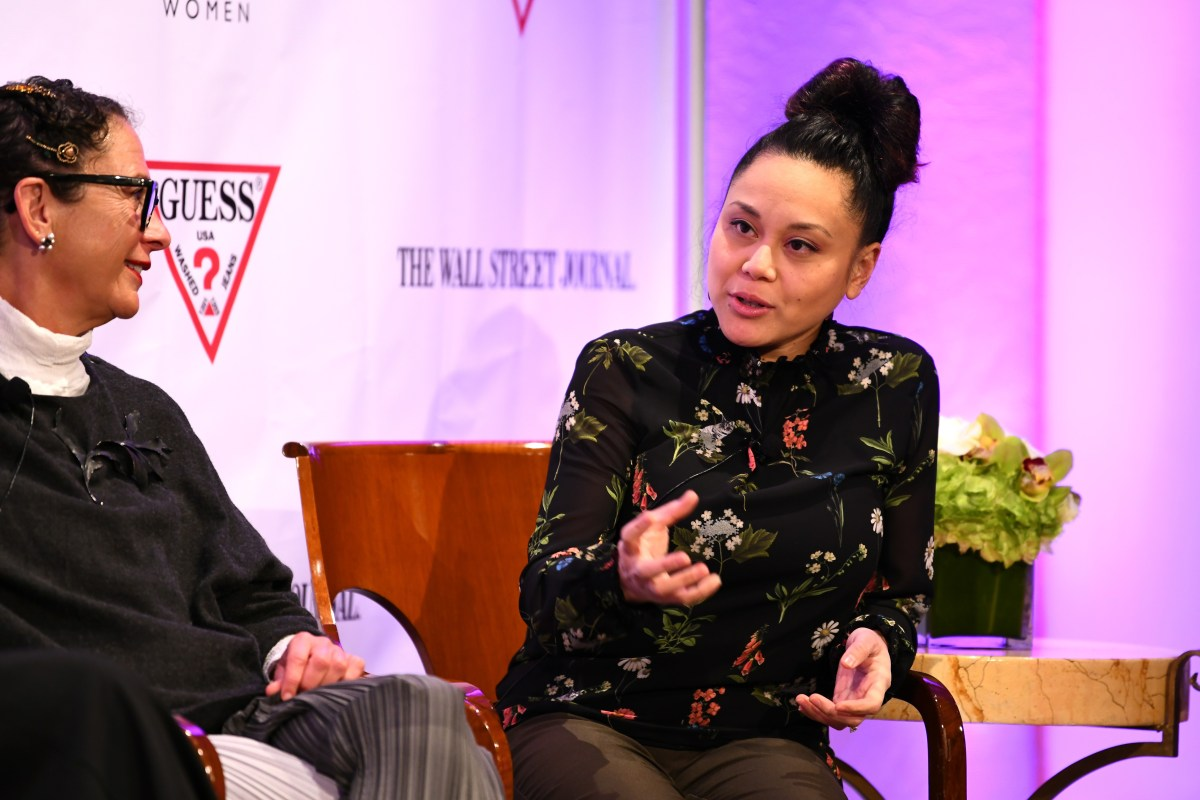 Nancy Silverton, left, and Sally Camacho Mueller; Credit: Getty Images