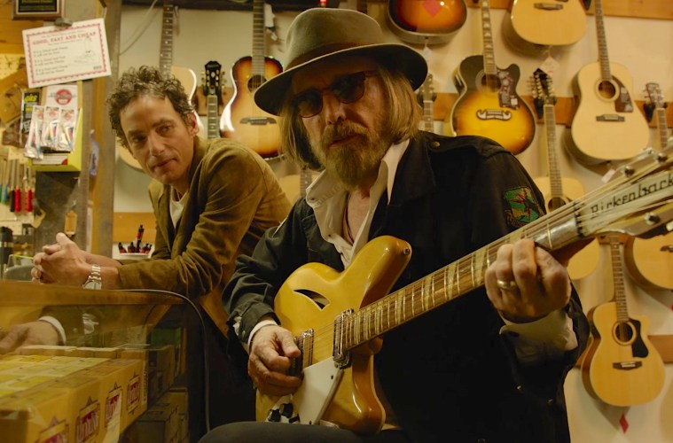 Jackob Dylan and Tom Petty in Echo in the Canyon ; Credit: Greenwich