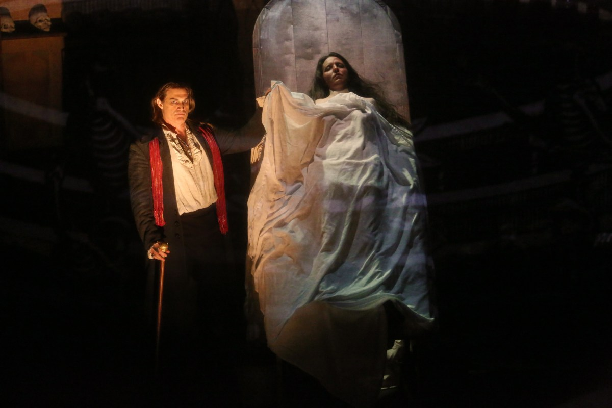 A scene from Lang's Anatomy Theater; Credit: L.A. Opera