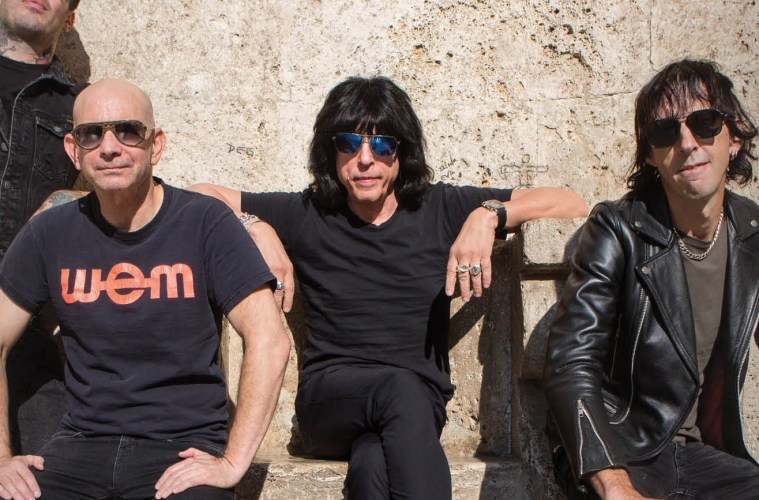 Marky Ramone's Blitzkrieg; Credit: Rock Against MS