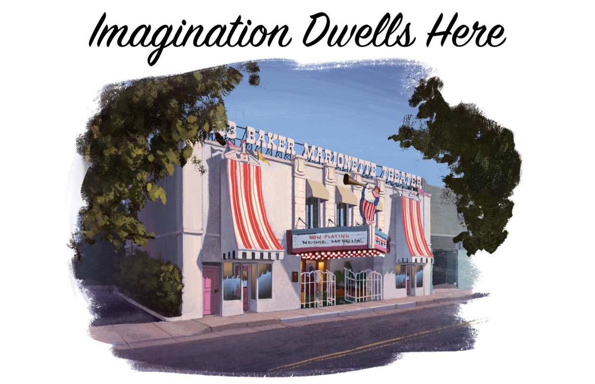 A rendering of the new venue in Highland Park; Credit: Courtesy Bob Baker Marionette Theater