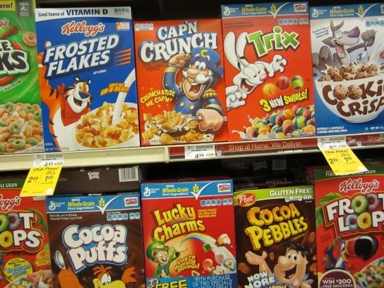 The Big Bang Theory of Product Advertising: In the Cereal Aisle, Dudes Rule  - LA Weekly