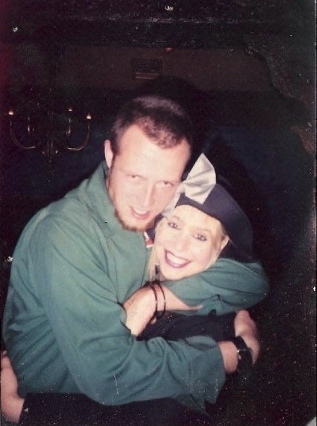 Dayle Gloria with Scott Weiland; Credit: Courtesy Dayle Gloria