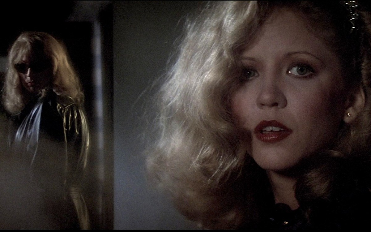Nancy Allen in Dressed to Kill ; Credit: MGM