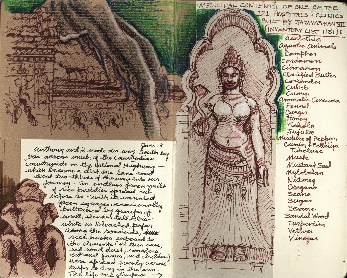Erin Currier, journal page; Credit: Courtesy of the artist