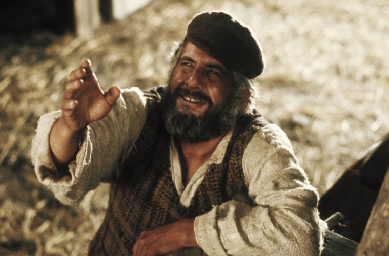 Topol stars in Norman Jewison's Fiddler on the Roof.; Credit: MGM