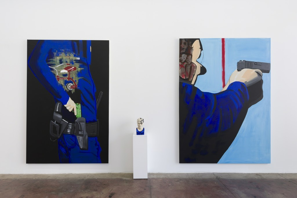 Forrest Kirk, Body Count (2018), installation view; Credit: Courtesy E.C. Lina Gallery