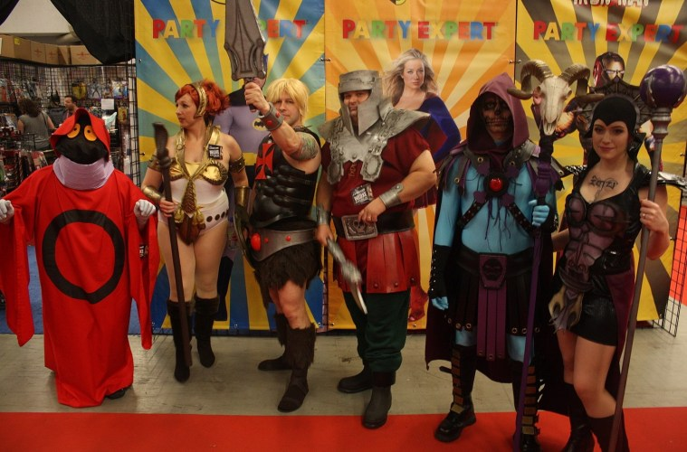 The Masters of the Universe at Montreal Comic 2015; Credit: Pikawil/Wikicommons
