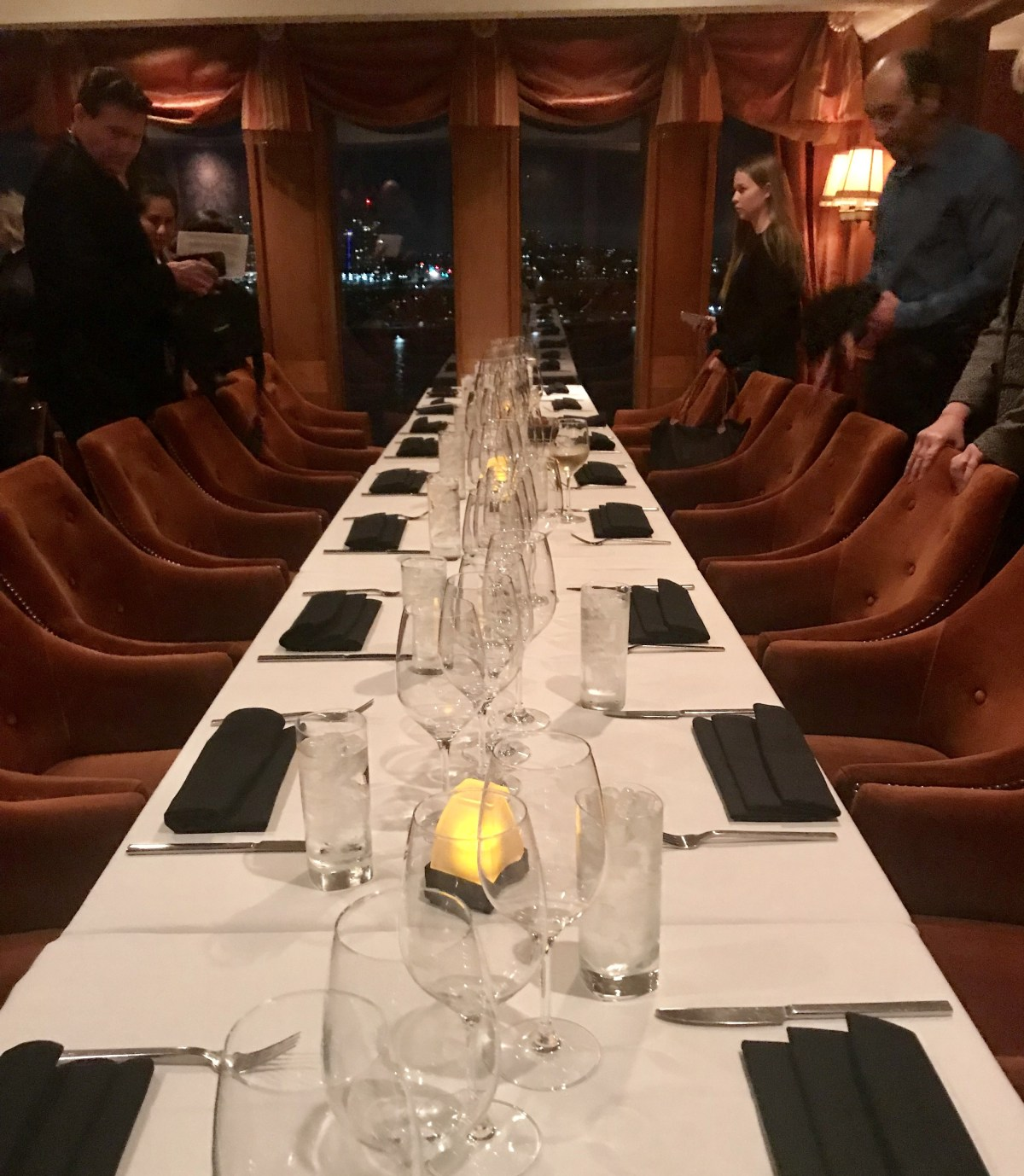 Sir Winston's dining room; Credit: Michele Stueven