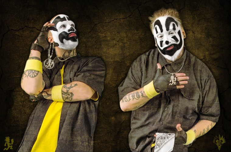 Insane Clown Posse; Credit: Josh Ulrich for Psychopathic Records
