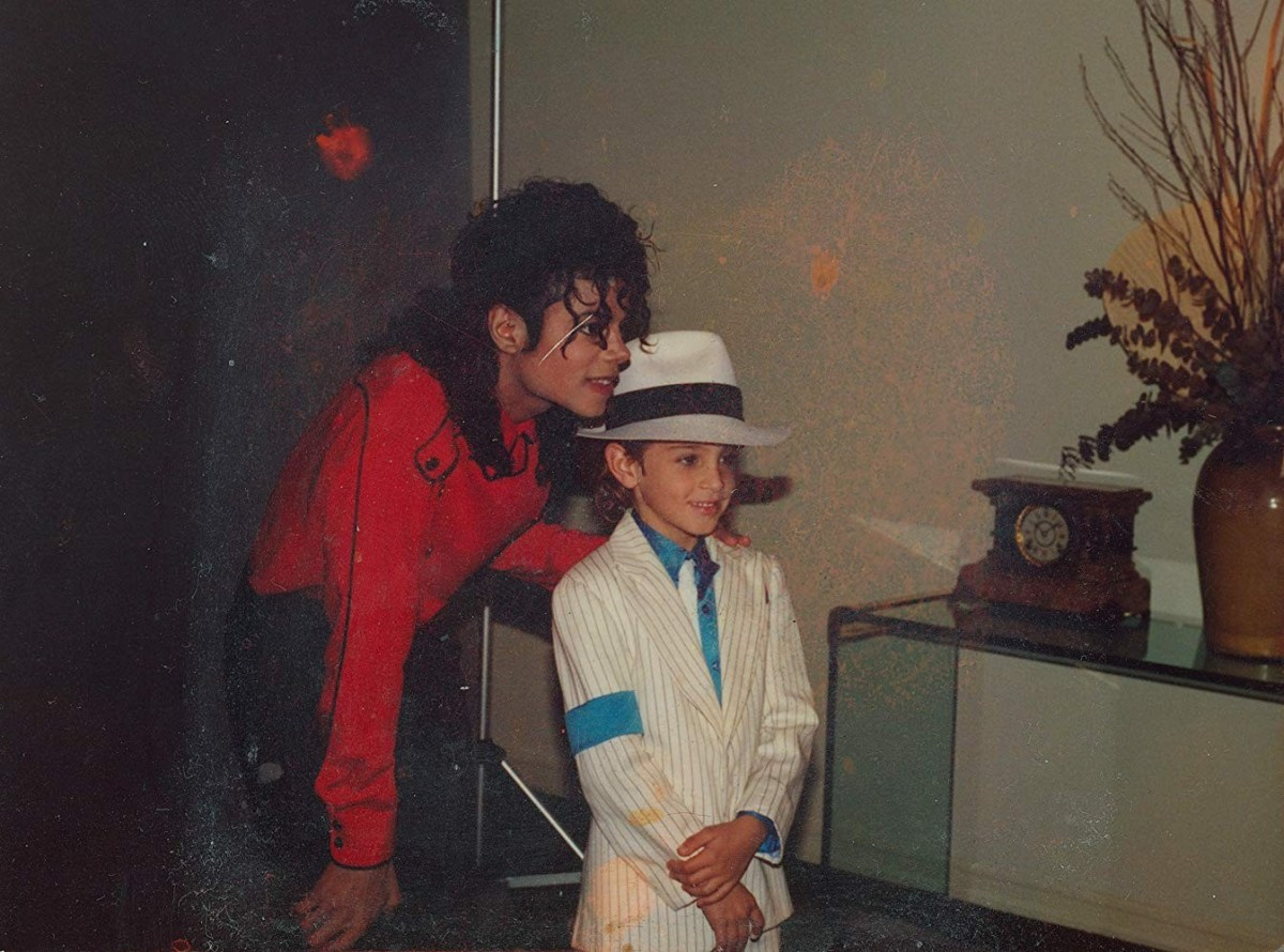 Michael Jackson and Wade Robson in Leaving Neverland ; Credit: HBO