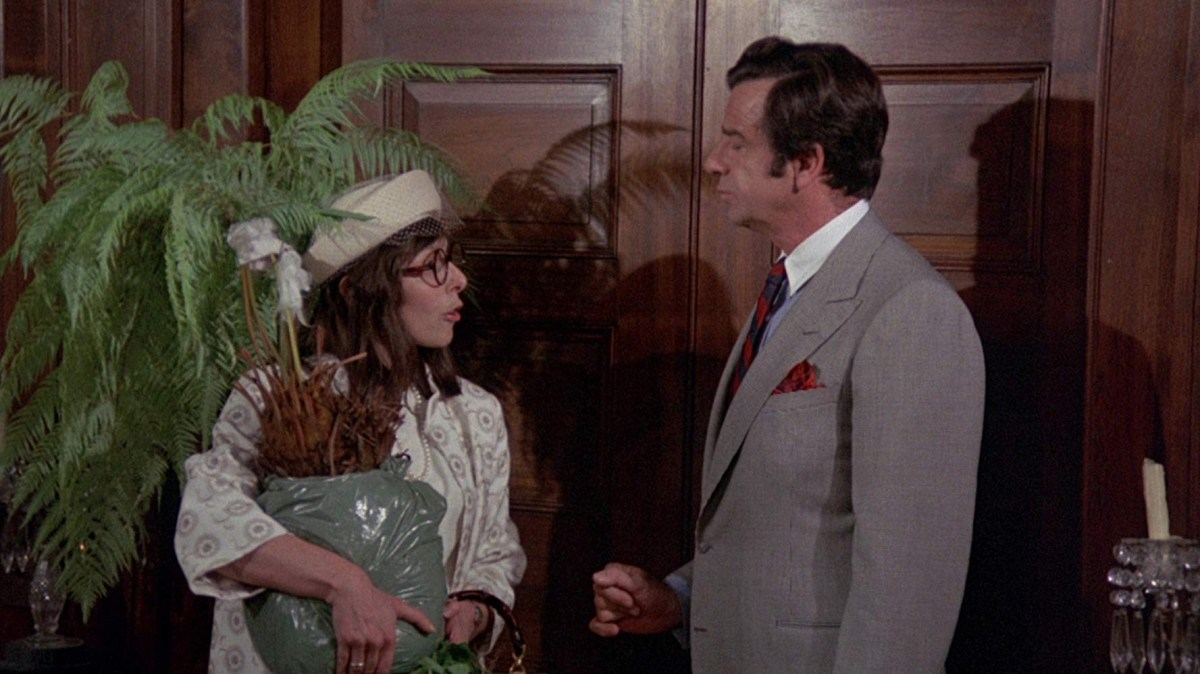 Elaine May, left, wrote, directed and co-starred with Walter Matthau in A New Leaf.; Credit: Paramount
