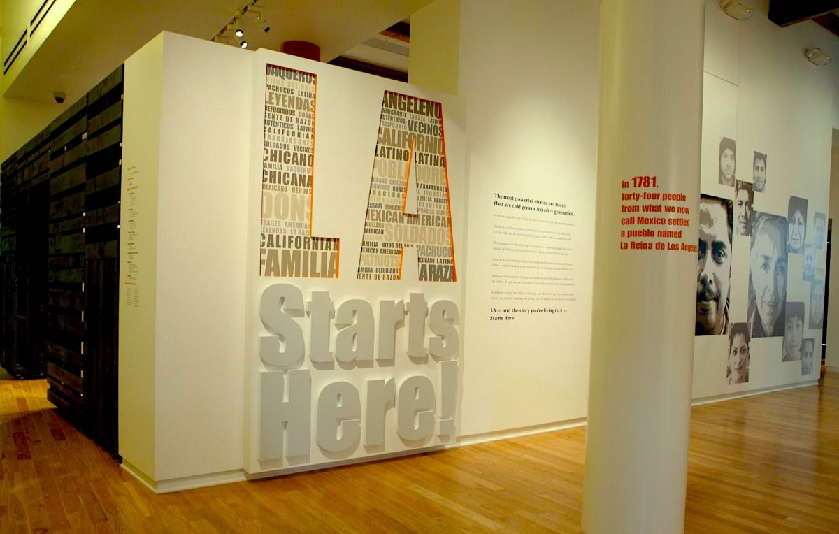 The history of Latinos in L.A. starts here at LA Plaza de Cultura y Artes.; Credit: Courtesy LA Plaza de Cultura y Artes