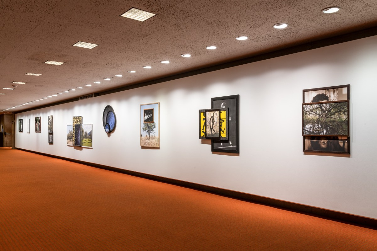 """Todd Gray, """"Pluralities of Being,"""" installation view at Palm Springs Art Museum; Credit: Lance Gerber"""