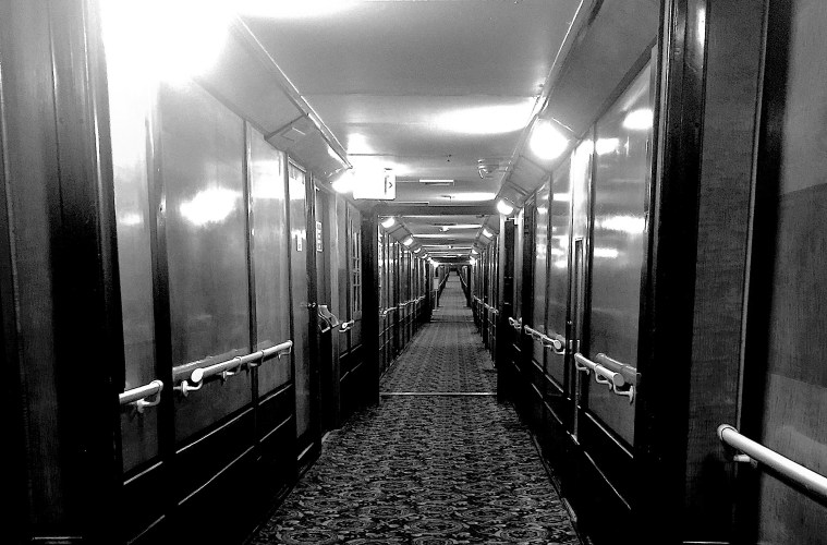 Haunting the halls at the Queen Mary; Credit: Dan Heck