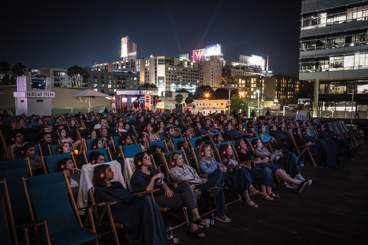 Rooftop Cinema Club in Hollywood; Credit: Courtesy NeueHouse