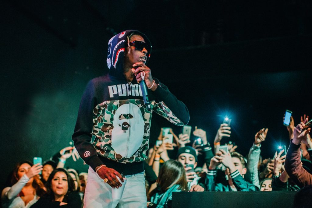 Young Thug peforms for fans at the Observatory.; Credit: Christina Craig
