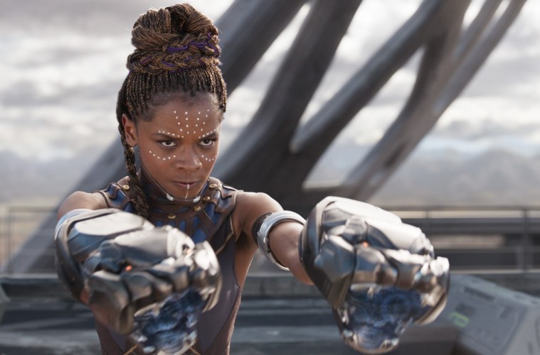 Letitia Wright in Black Panther; Credit: Marvel Studios
