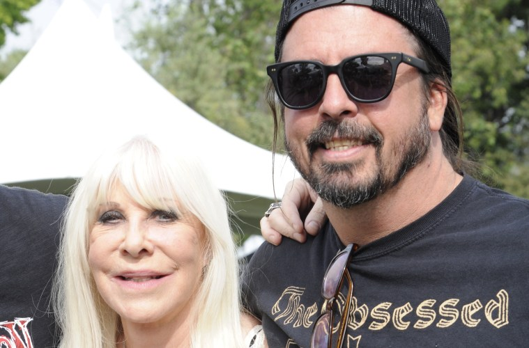 Wendy Dio and Dave Grohl; Credit: PG Brunelli