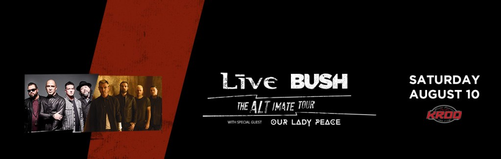 Live, Bush, Our Lady Peace