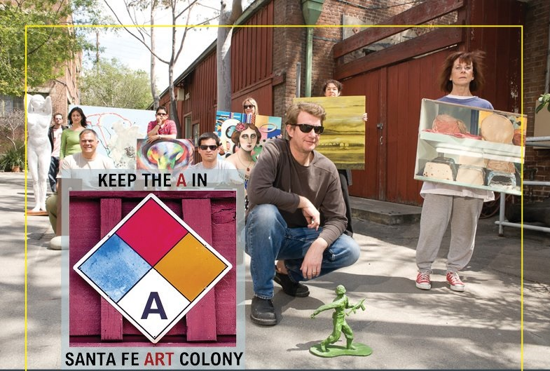 Art Event Savesfac Santa Fe Artists Colony Open Studios La Weekly
