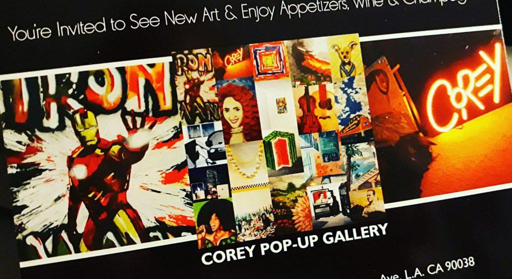 Corey – Pop-up Art Gallery