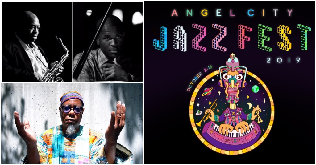 Angel City Jazz Fest: Darius Jones & Joshua White + Dwight Trible