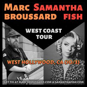 Marc Broussard, Samantha Fish