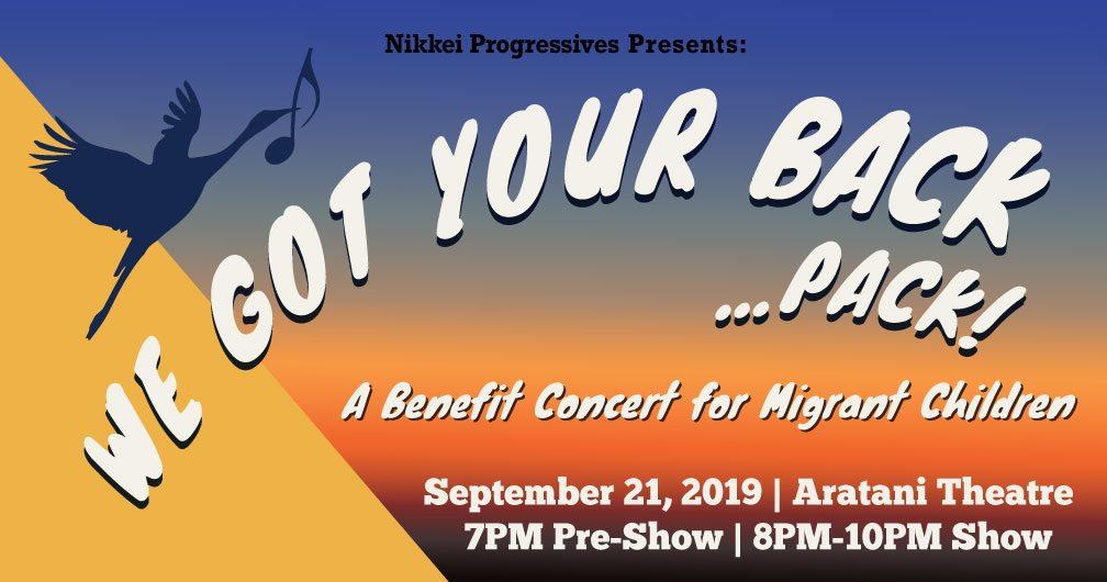 We Got Your Back (Pack): A Benefit Concert for Migrant Children
