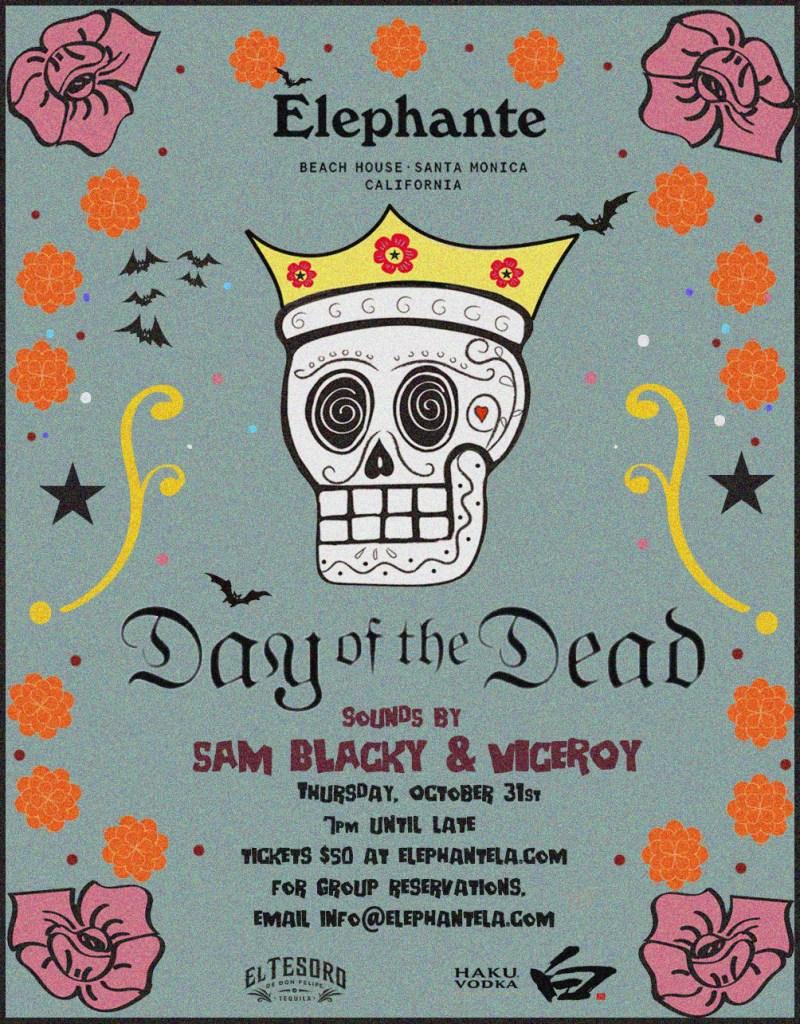 Élephante Beach House Presents: Day Of The Dead Halloween Party