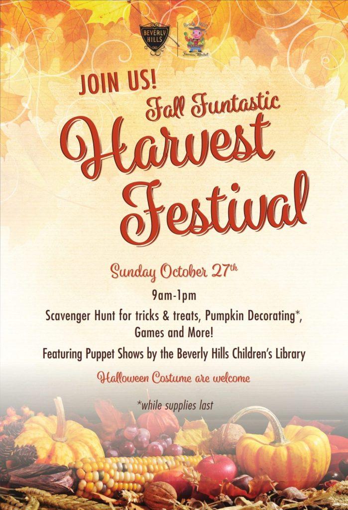 Beverly Hills Farmers' Market Fall Harvest Festival