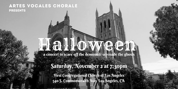 Halloween: A Concert to Scare off the Demons & Serenade the Ghosts