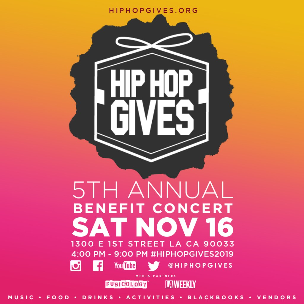 Hip Hop Gives Benefit Concert – All ages