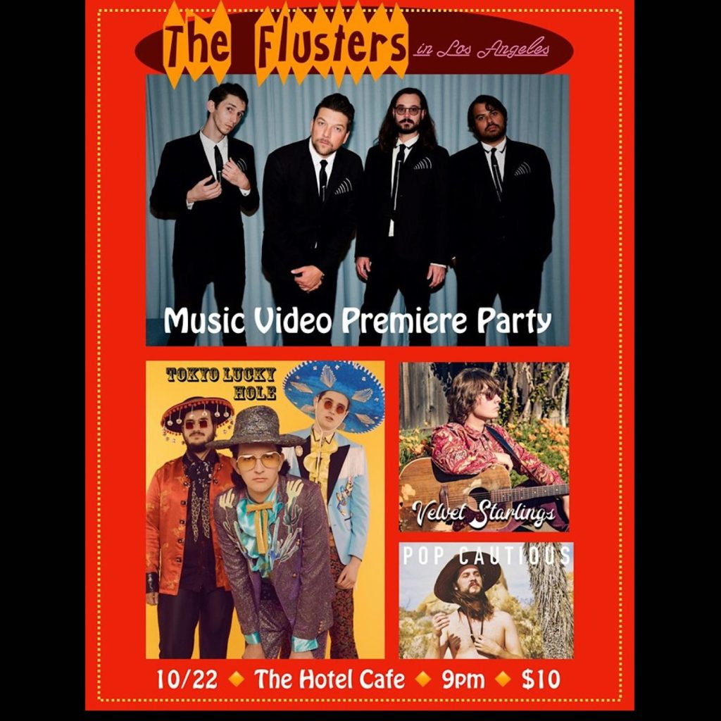 The Flusters Music Video Premiere