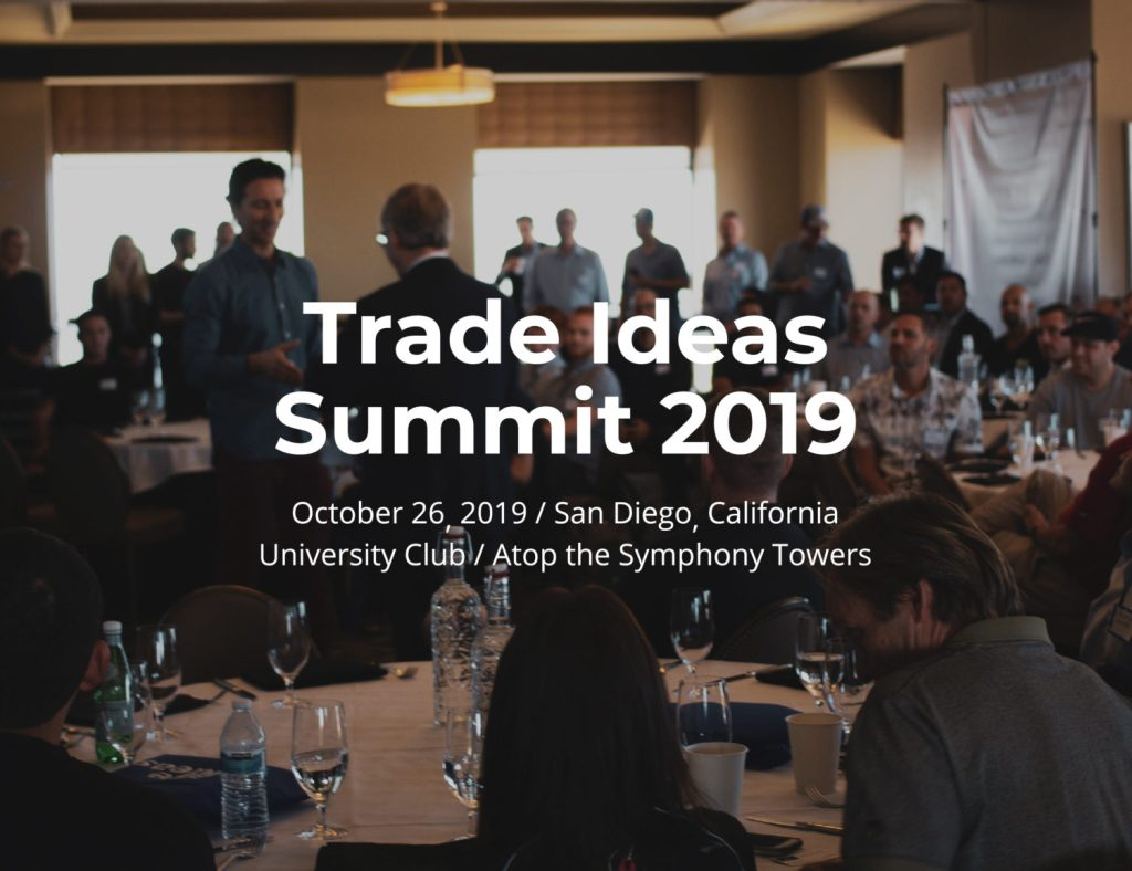 Trade Ideas Summit 2019 — Investing & Trading Talks from Experts