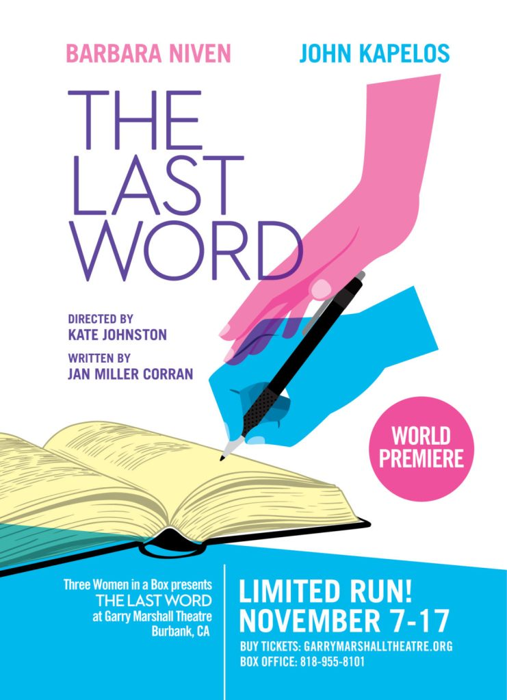 The Last Word- world premiere play