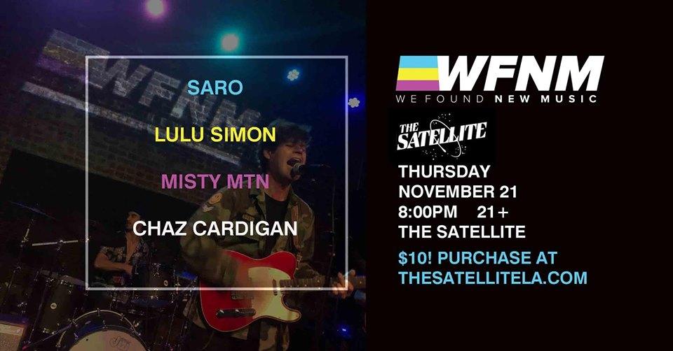 We Found New Music Showcase with SARO